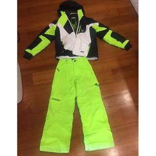 Spyder Ski Jacket and ski pants for Boys