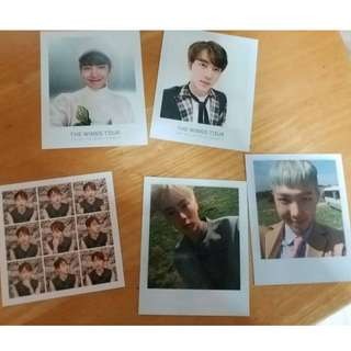 WTS clearance bts official photocards