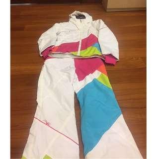 Spyder Girl Ski Jacket and ski pants