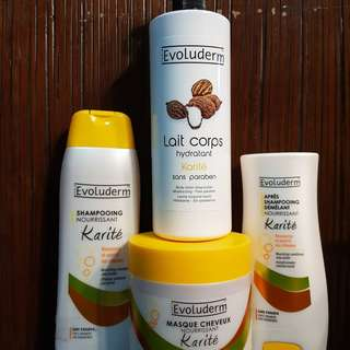 SALE!!! Bundle package (shampoo,conditioner,hair mask, body lotion)