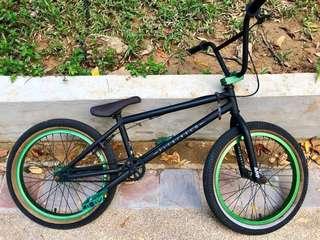 """BMX bike 20"""" , Fitbikeco 2014 ARF series 1 Matt Black"""