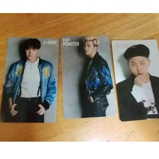 CLEARANCE BTS OFFICIAL RUN ,I NEED U JAPAN PC
