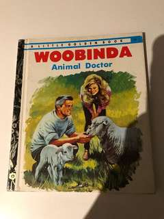 Woobinda - Animal Doctor - Little Golden Book