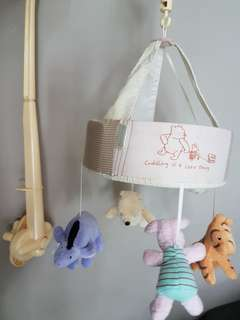 Pre-loved - Mothercare's Winnie the Pooh's baby cot mobile