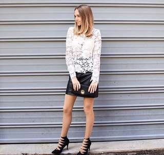 HM lace top