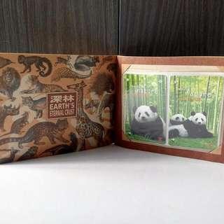 自然動物集,地鐵卡套装