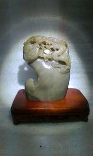 老件壽山石雕