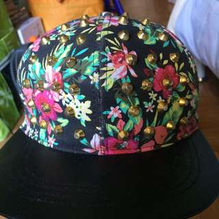 Claire's spiky snapback