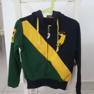 Toddler Polo Hoodie