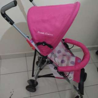 Sweet Cherry Stroller for 2 - 4 years old