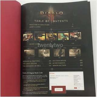 (QYOP) Diablo 3 Limited Edition Strategy Guide
