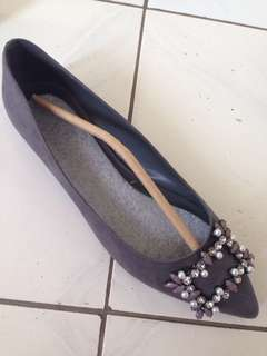 Charles & keith ballerina flat shoes