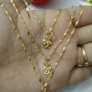 Chanel Gold 916 Necklace *Postage only