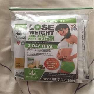 Herbalife 3 days trial pack