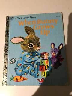 When Bunny Grows Up - Little Golden Book