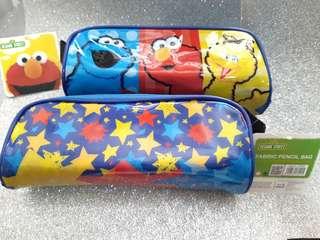 BNIB Sesame Street Fabric Pencil Case