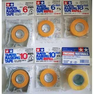 Tamiya Masking Tape (6mm, 10mm, 18mm, 40mm)