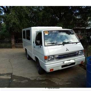 L300 van for rent ( dual aircon )