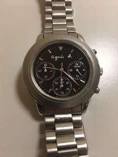 Agnes b wrist watch