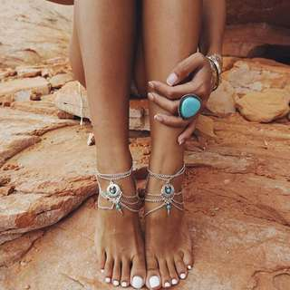 Bohemian Anklet