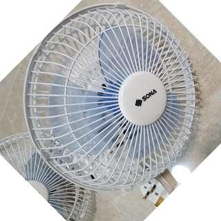 """SONA 7"""" Clip/Desk Fan for SALE"""