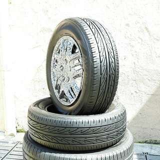 Used 195/65 R15(Sold) Bridgestone (2pcs) 🙋‍♂️