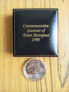 1998 Commemorative Souvenir of Asian Aerospace