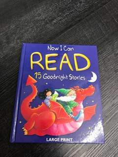 Now I can read - 15 Goodnight Stories