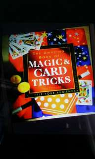 The amazing book of magic card tricks