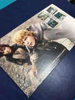2004 新西蘭郵政 魔戒首日封