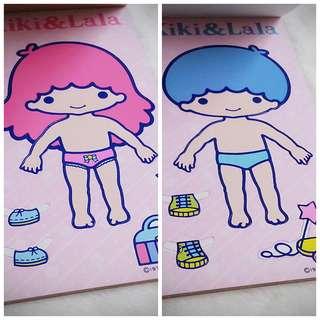 Little Twin Stars 古董 罕有1976年初回產品兒時遊戲童年回憶  Sanrio Product 日本空運 日本版 珍藏 紀念 (雙星仙子,KiKi&LaLa)(リトルツインスターズ)