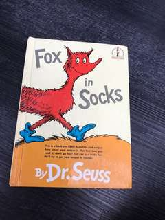 Fox in Socks - dr Seuss