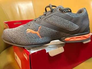 Puma Tazon 6 Knit Sneaker Grey-Orange