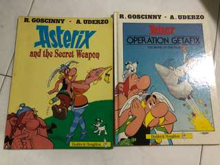 Asterix Hardcover Comic