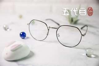 無度數防藍光眼鏡(選色)