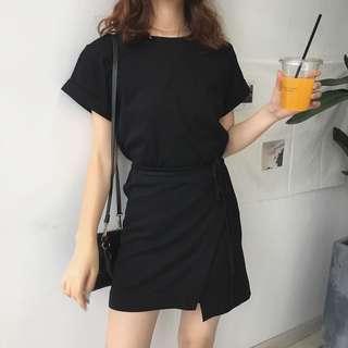 🚚 韓風不規則拼接洋裝
