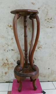 Old Wooden Vase Stand 酸枝花架 H34 inches