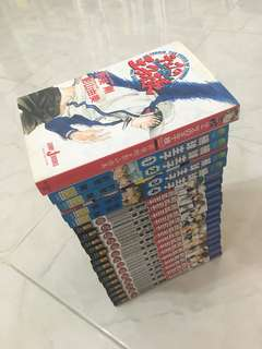 Prince of Tennis Manga Comic set