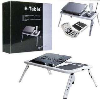 E-Table Foldable Laptop Cooling Pad