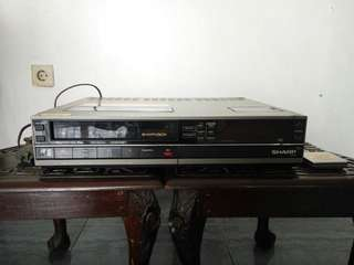 Video Casette Recorder Sharp