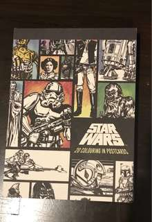 Star Wars: 20 Colouring In Postcards from Typo