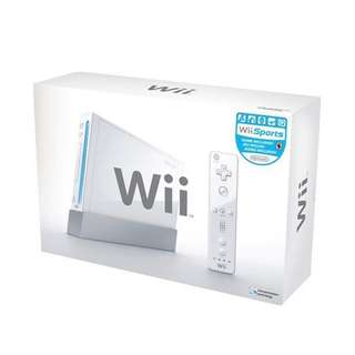 Nintendo Wii Console Games set in Red (Limited Edition)