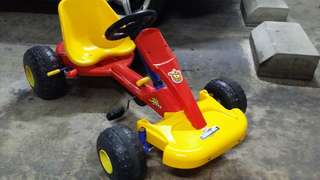 kids 4 wheel car