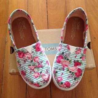 Authentic TOMS Kids Shoes