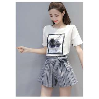 GSS566X Top+Shorts