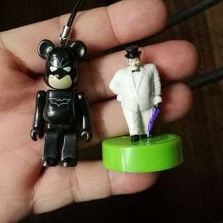 Dc comics batman bearbricks charm