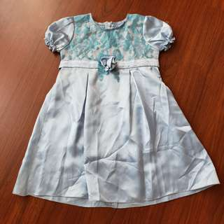 PRELOVED Dress Pesta Anak Gaun