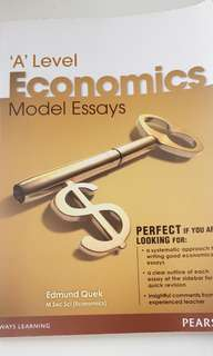 A Level Economics Model Essay