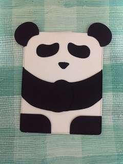 Felt panda laptop case
