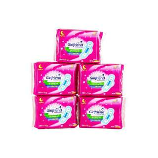 WholeSale! Girlfriend Anions Pads - Night Use Pack of 5